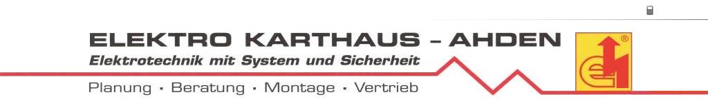 Elektro Karthaus-Ahden